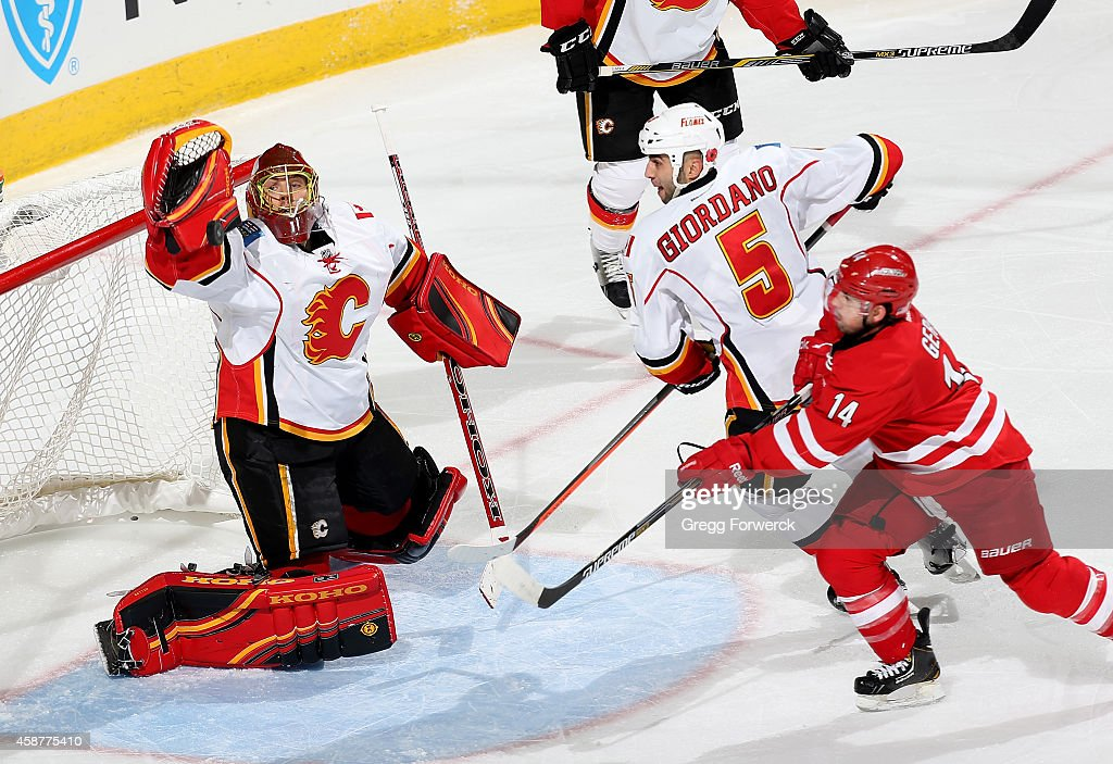 Calgary Flames v Carolina Hurricanes