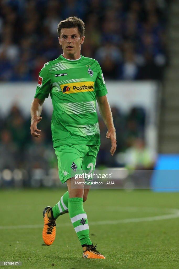 Jonas Hofmann of Borussia Moenchengladbach during the preseason friendly match between Leicester City and Borussia Moenchengladbach at The King Power Stadium on August 4, 2017 in Leicester, United Kingdom.
