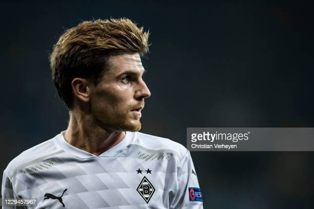 Jonas Hofmann of Borussia Moenchengladbach is seen during the Group B UEFA Champions League match between Shakhtar Donetsk and Borussia...