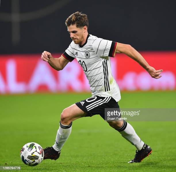 Jonas Hofmann of Germany in action during the international friendly match between Germany and Czech Republic at Red Bull Arena on November 11 2020...