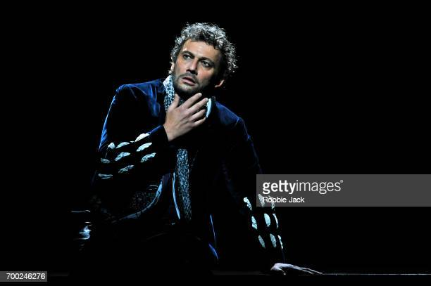 Jonas Kaufmann as Otello in the Royal Opera's production of Giuseppe Verdi's Othello directed by Keith Warner and conducted by Antonio Pappano at The...