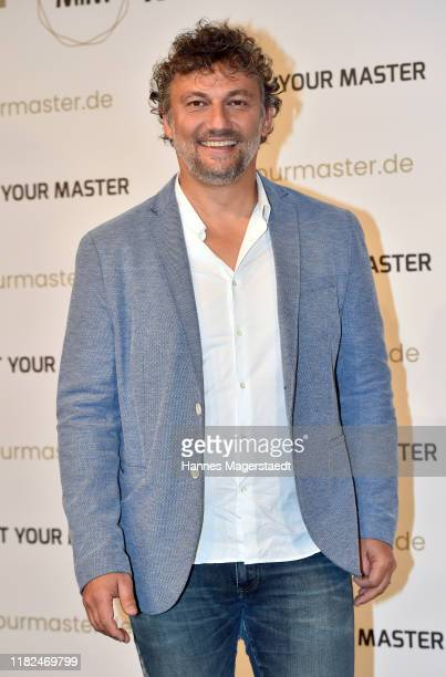 Jonas Kaufmann at the launch event of Meet Your Master at Hotel Bayerischer Hof on October 21 2019 in Munich Germany
