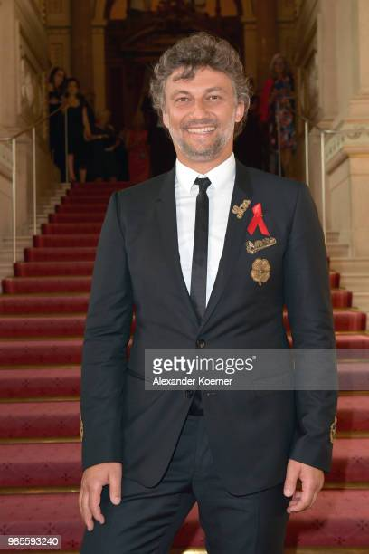 Jonas Kaufmann attends the LIFE Celebration Concert at Burgtheater on June 1 2018 in Vienna Austria The concert marks the opening of the Life Ball an...