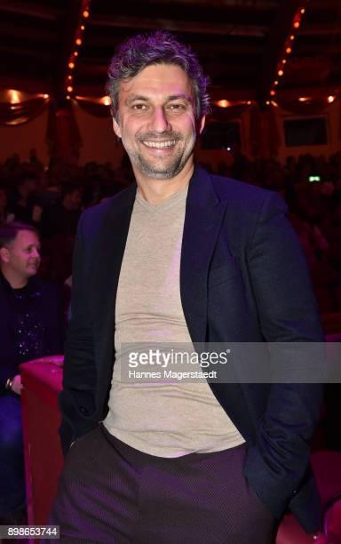 Jonas Kaufmann during Circus Krone celebrates premiere of 'In Memoriam' at Circus Krone on December 25 2017 in Munich Germany