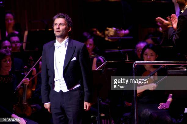 Jonas Kaufmann performs at his first ever Australian concert tour to Sydney and Melbourne at the Sydney Opera House on August 10 2014 in Sydney...