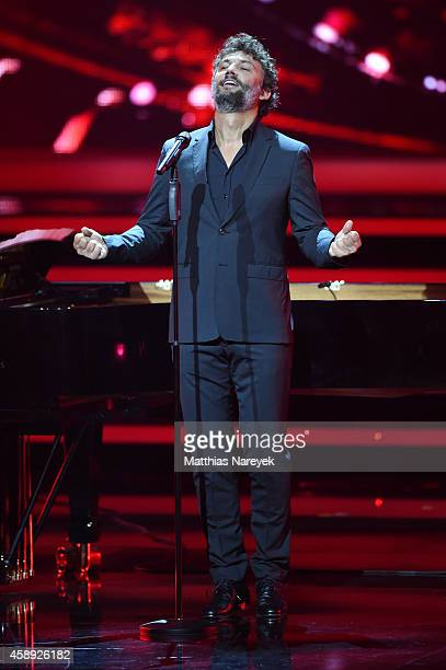Jonas Kaufmann performs live on stage during the Bambi Awards 2014 show on November 13 2014 in Berlin Germany