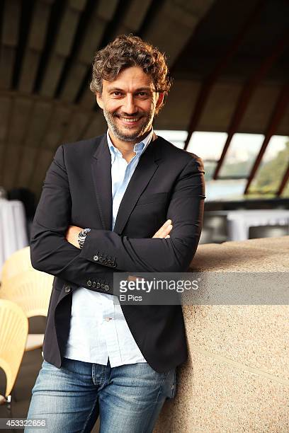 Jonas Kaufmann poses for a photo ahead of his first ever Australian concert tour to Sydney and Melbourne at the Sydney Opera House on August 8 2014...