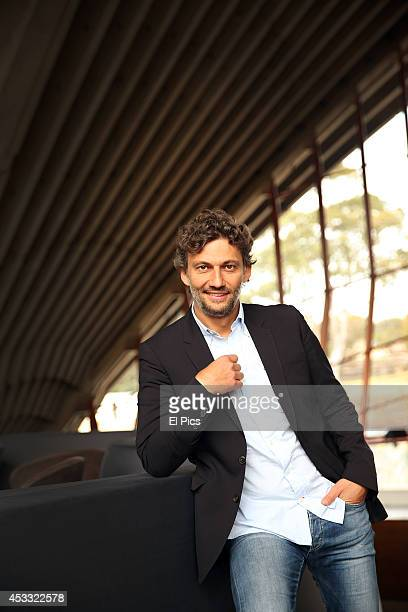 Jonas Kaufmann talks to the media at a press conference ahead of his first ever Australian concert tour to Sydney and Melbourne at the Sydney Opera...