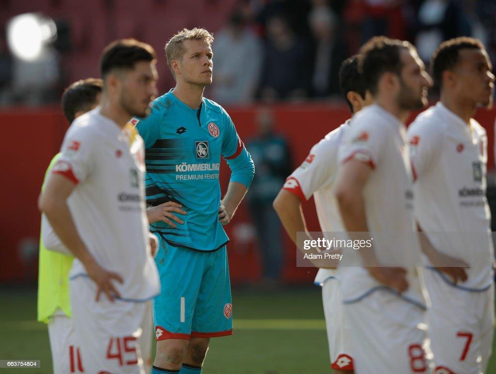 FC Ingolstadt 04 v 1. FSV Mainz 05 - Bundesliga : Foto di attualità