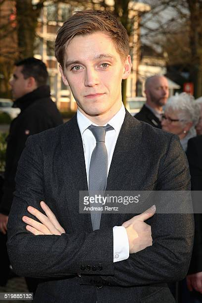 Jonas Nay arrives at the 52th Grimme Award on April 8 2016 in Marl Germany
