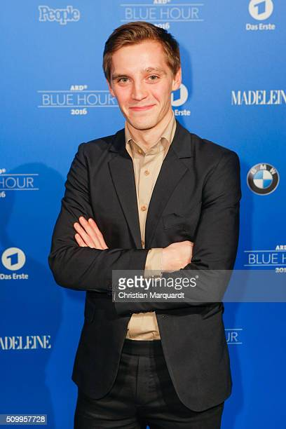 Jonas Nay attends the Blue Hour Reception hosted by ARD during the 66th Berlinale International Film Festival Berlin on February 12 2016 in Berlin...