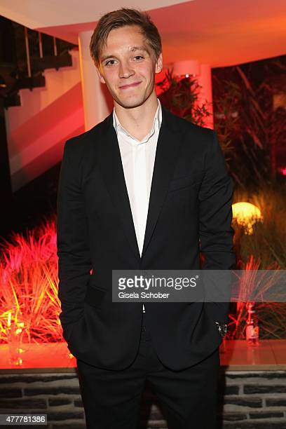 Jonas Nay attends the German Film Award 2015 Lola party at Palais am Funkturm on June 19 2015 in Berlin Germany