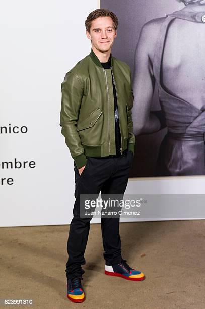 Jonas Nay attends the 'LOEWE Past Present Future' inauguration exhibition at Jardin Botanico on November 17 2016 in Madrid Spain