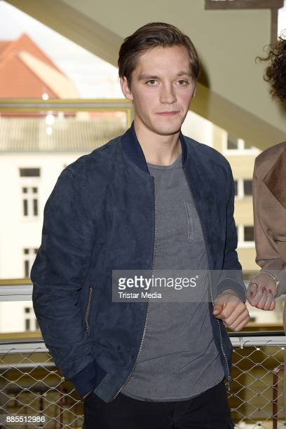 Jonas Nay during a set photo call for the TV series 'Deutschland86' on December 4 2017 in Berlin Germany