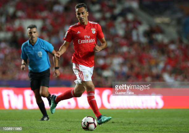 Jonas of SL Benfica in action during the Liga NOS match between SL Benfica and CD Aves at Estadio da Luz on September 23 2018 in Lisbon Portugal