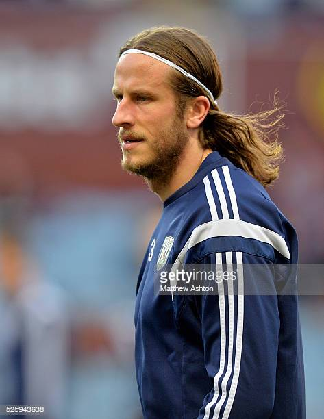 Jonas Olsson of West Bromwich Albion