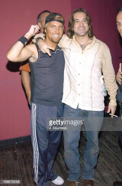 Jonas owner of RokBar with Scott Stapp during Post VMA Private Party Hosted By Scott Stapp Lincoln Road Magazine and Liquid Ice Energy Drink in Miami...