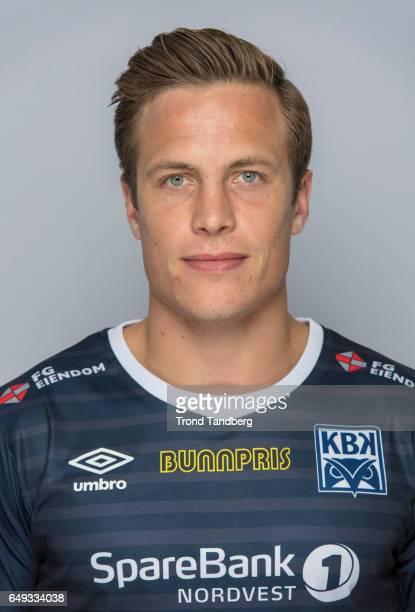Jonas Roenningen of Team Kristiansund BK on March 7 2017 in Kristiansund Norway