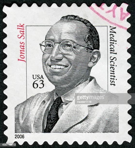 Jonas Salk Stamp