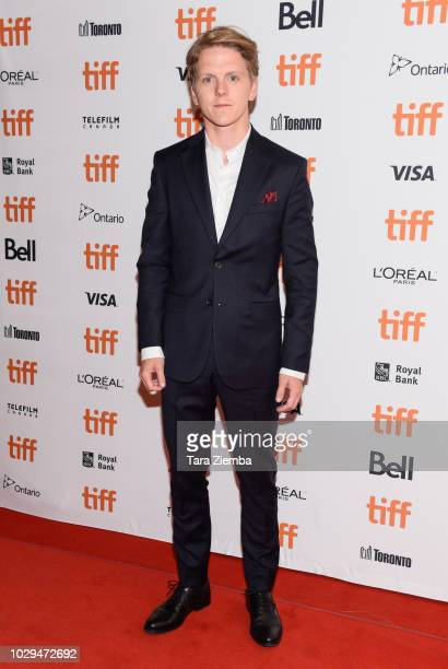 Jonas Strand Gravli attends the '22 July' premiere during 2018 Toronto International Film Festival at The Elgin on September 8 2018 in Toronto Canada