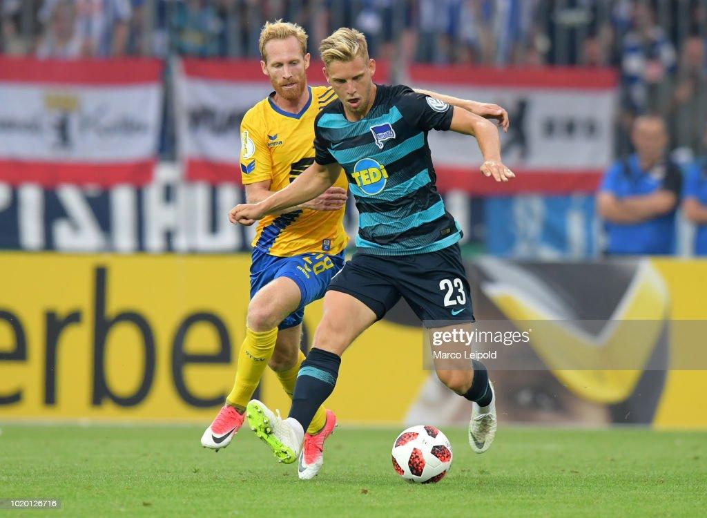 Eintracht Braunschweig v Hertha BSC - DFB Cup