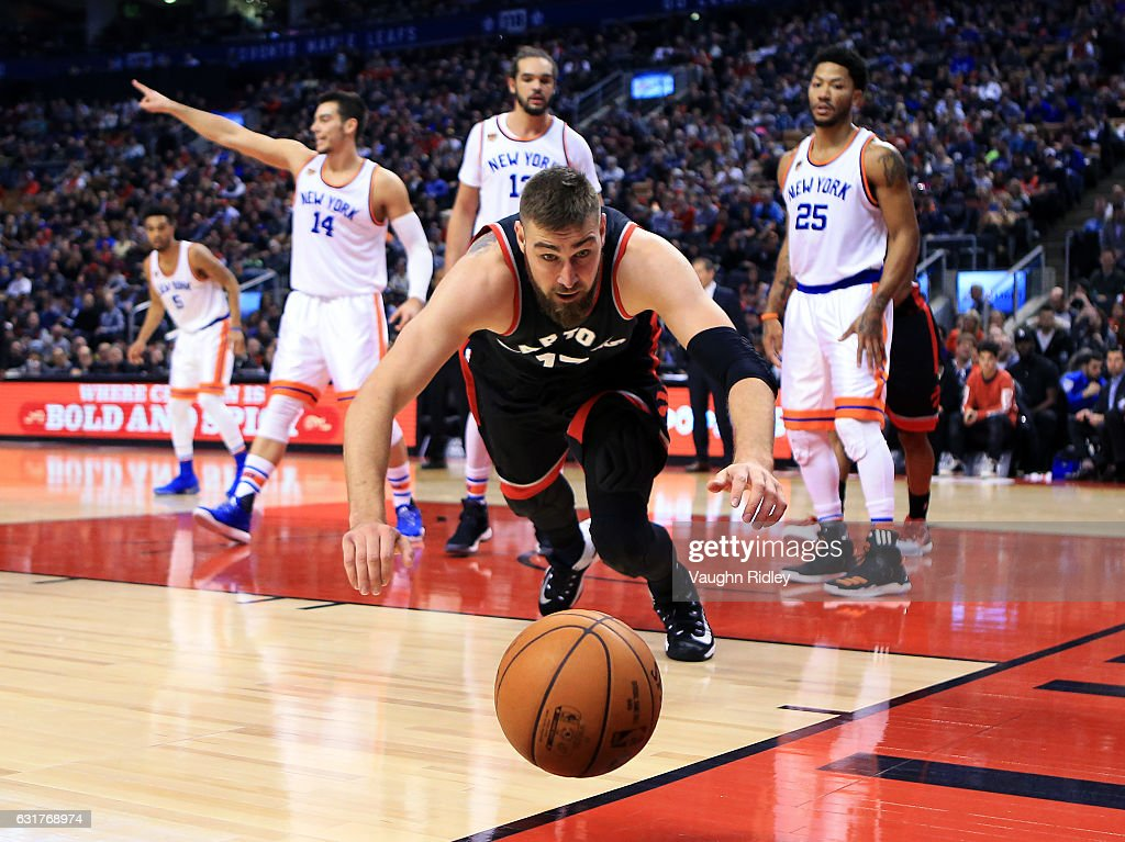 New York Knicks v Toronto Raptors