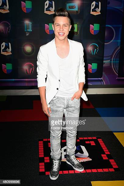 Jonatan Sanchez attends Univision's Premios Juventud 2015 at Bank United Center on July 16 2015 in Miami Florida