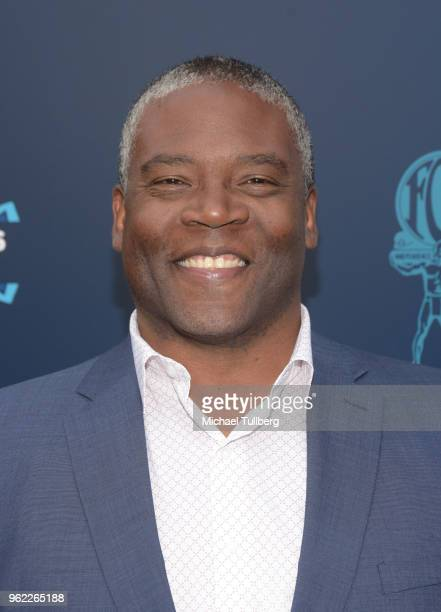 Jonathan Adams attends the 20th Century Fox 2018 LA Screenings Gala at Fox Studio Lot on May 24 2018 in Century City California