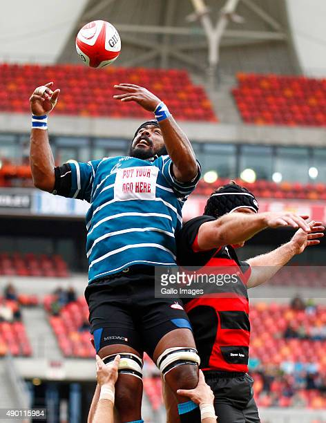 Jonathan Adendorf of Griquas during the Absa Currie Cup match between Eastern Province Kings and ORC Griquas at Nelson Mandela Bay Stadium on...