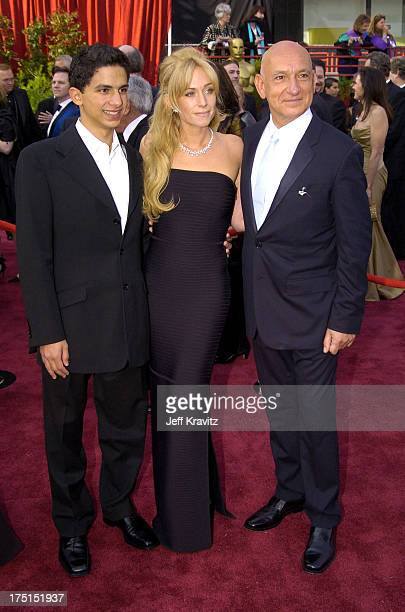 Jonathan Ahdout Lady Alexandra Christmann and Sir Ben Kingsley