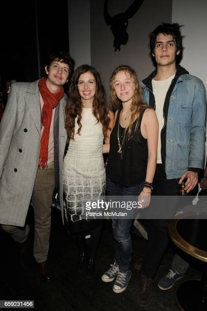 Jonathan Allen Chiara Clemente Mallory Neidich and Grear Patterson attend Chiara Clemente's OUR CITY DREAMS After Party Sponsored by DIOR BEAUTY and...
