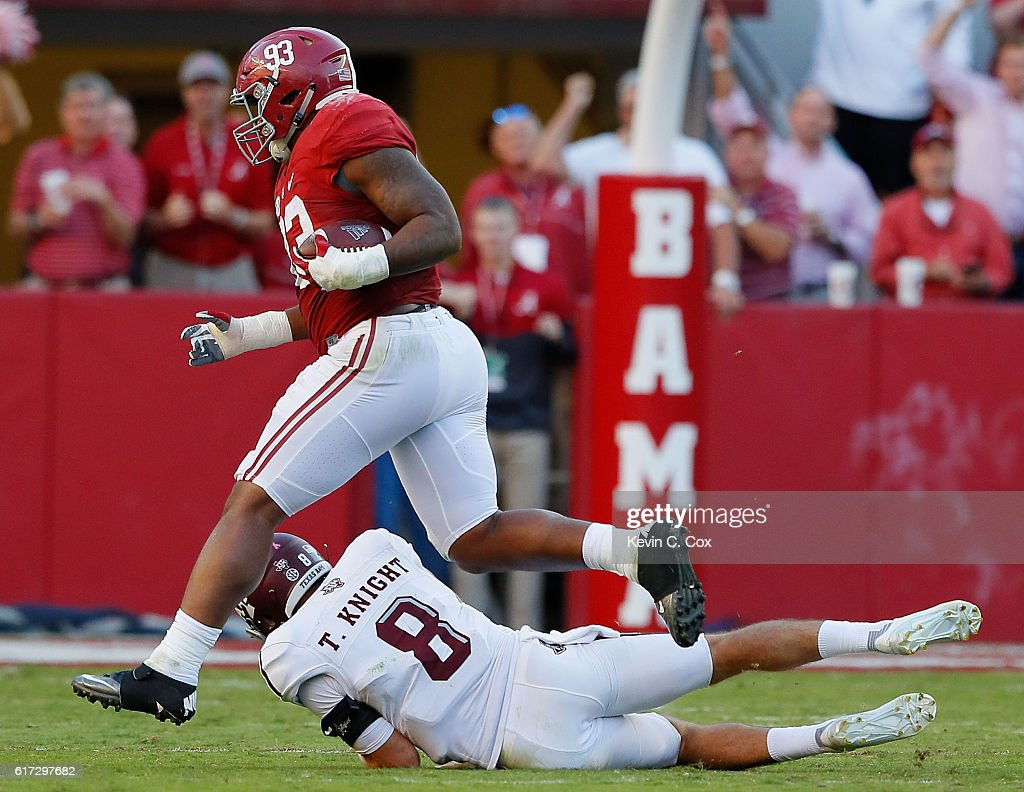 Texas A&M v Alabama : News Photo