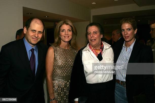 Jonathan Alter Caroline Kennedy Margaret Mikol and Deirdre Imus attend SKIP of New York 2005 Friendraiser at Christie's Auction House on September 12...