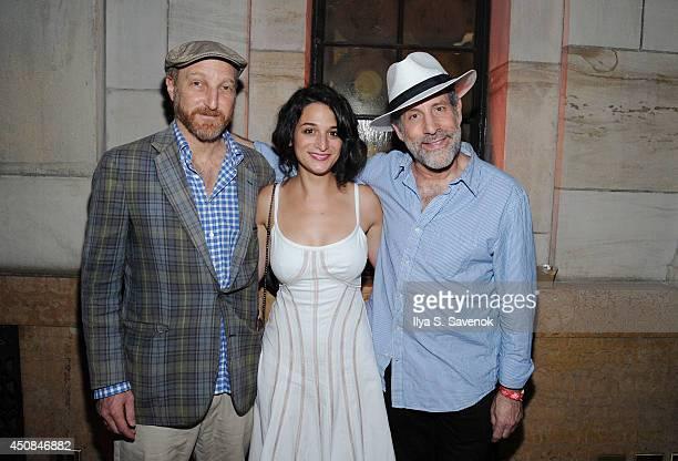 Jonathan Ames Jenny Slate and Daniel Asa Rose attend the Boyhood opening night screening during the 2014 BAMcinemaFest at Skylight One Hanson on June...