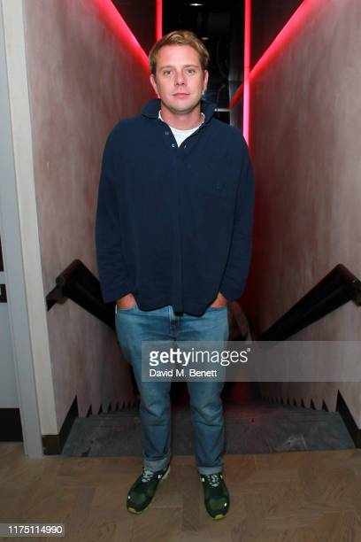 Jonathan Anderson attends the JW Anderson party at The Mezzanine Bar at The Stratford on September 16 2019 in London England