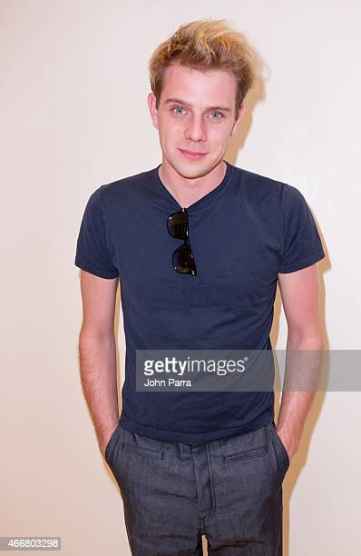 Jonathan Anderson attends the LOEWE US debut event on March 18 2015 in Miami Florida