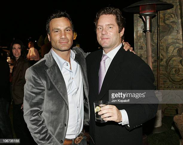 Jonathan Antin and Jimmy Yaffe during 2004 Pre-Emmy Party Hosted By Endeavor Agency at Private Residence in Beverly Hills, California, United States.