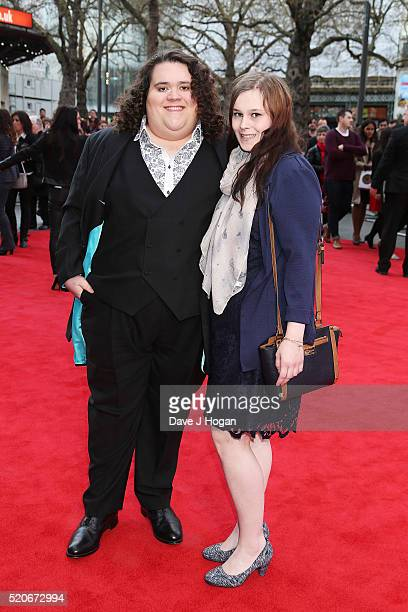 Jonathan Antoine arrives for the UK film premiere of Florence Foster Jenkins at Odeon Leicester Square on April 12 2016 in London England
