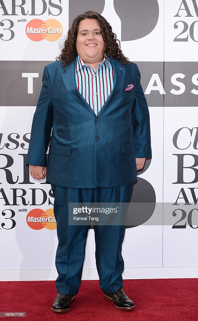 Jonathan Antoine attends the Classic BRIT Awards 2013 at Royal Albert Hall on October 2, 2013 in London, England.