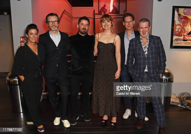 Jonathan Aris Lorcan Finnegan Imogen Poots and guests attend the European Premiere of Vivarium during the 63rd BFI London Film Festival at The Curzon...