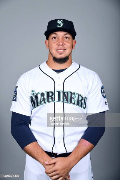 Jonathan Aro of the Seattle Mariners poses during Photo Day on Monday February 20 2017 at Peoria Sports Complex in Peoria Arizona