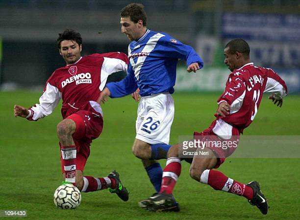 Jonathan Bachini of Brescia during a SERIE A 14th Round League match between Brescia and Perugia played at the Mario Rigamonti Stadium Brescia...