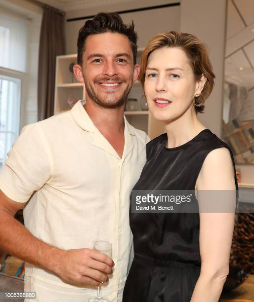 Jonathan Bailey and Georgina McKee attend a sparkling affair at Boodles in celebration of Pippa BennettWarner's 30th birthday and the recent success...