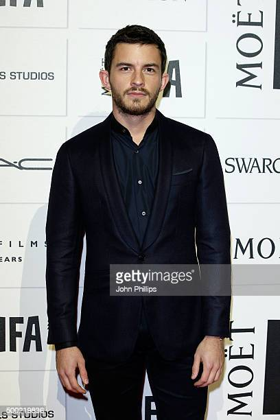 Jonathan Bailey arrives at The Moet British Independent Film Awards 2015 at Old Billingsgate Market on December 6 2015 in London England