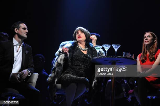 Jonathan Bailey as Jamie Patti Lupone as Joanne and Rosalie Craig as Bobbie in Stephen Sondheim's Company directed by Marianne Elliott at The Gielgud...