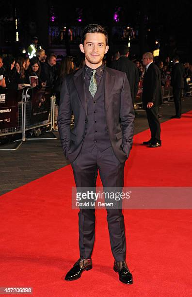 Jonathan Bailey attends a screening of Testament of Youth during the 58th BFI London Film Festival at Odeon Leicester Square on October 14 2014 in...