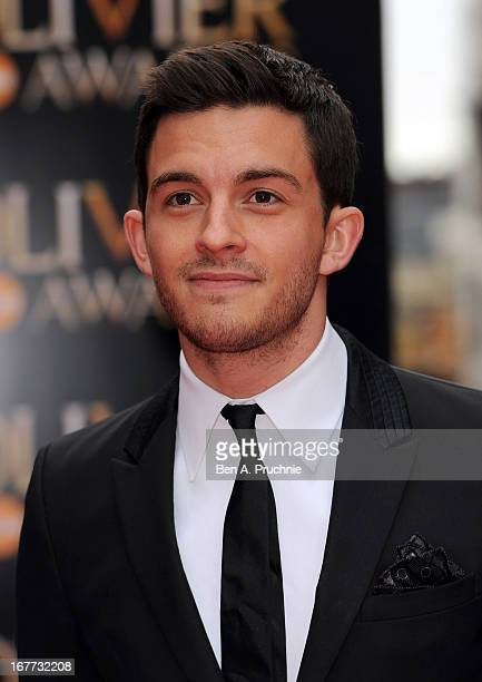 Jonathan Bailey attends The Laurence Olivier Awards at the Royal Opera House on April 28 2013 in London England