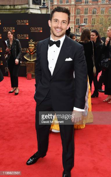 Jonathan Bailey attends The Olivier Awards 2019 with Mastercard at The Royal Albert Hall on April 7 2019 in London England