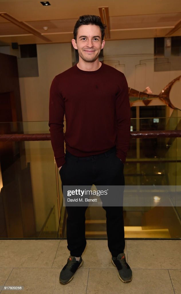 Jonathan Bailey attends the press night after party for 'The York Realist' at The Hospital Club on February 13, 2018 in London, England.