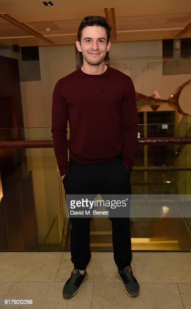 Jonathan Bailey attends the press night after party for The York Realist at The Hospital Club on February 13 2018 in London England